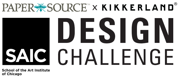 Paper Source X Kikkerland Design Inc + SAIC School Of The Air Instatute Of Chicago Design Challenge